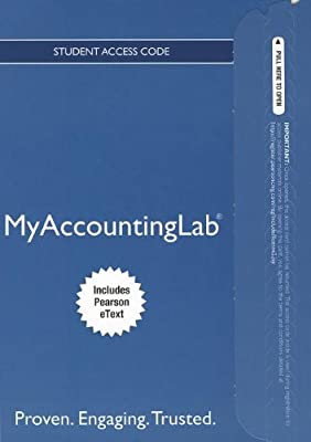 NEW MyAccountingLab with Pearson eText -- Access Card -- for Financial Accounting (MyAccountingLab (Access Codes))
