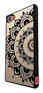 290 - Shabby Chic Eastern art lucky Sharm Design For Sony Xperia Z5 Compact / Mini Fashion Trend CASE Back COVER Plastic&Thin Metal