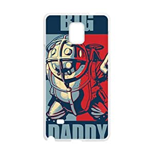 Happy Big Daddy unique robot Cell Phone Case for Samsung Galaxy Note4