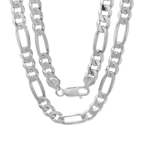 8 Mm Figaro Chain - 8