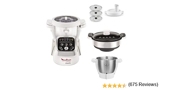 Moulinex Cuisine Companion - Robot de cocina + XF383110 Accesorio ...