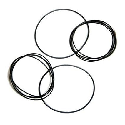 MICROELETTRONICA - Antriebsriemen für elektronische Geräte H 1,2 mm Durchmesser 25 bis 130 mm
