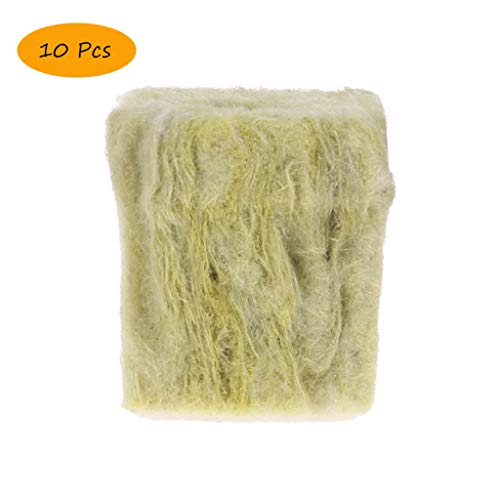 Plugs Starter Stonewool (Taichao Rockwool Stonewool Hydroponic Grow Media Soilless Starter Cubes Plugs Hydroponic Cultivation Planting Compress Base )