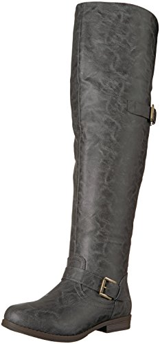 Co The Brinley Women's Knee Boot Over Sugar Grey 1AdSqxSw