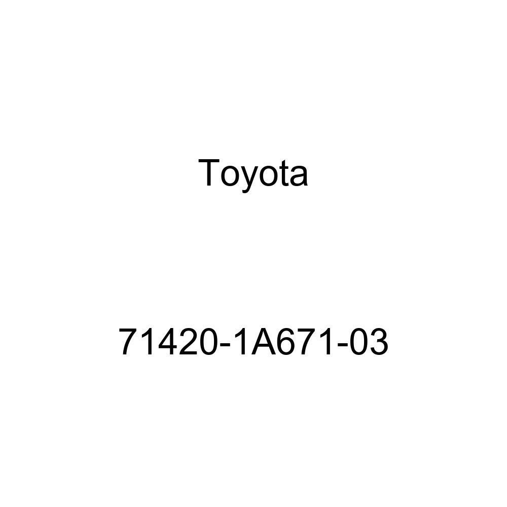 TOYOTA Genuine 71420-1A671-03 Seat Cushion Assembly