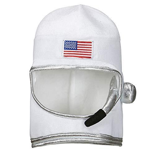 widmann 01116-Astronaut Helmet for Adults-One Size -