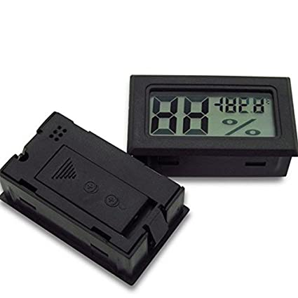 Mini Lcd Digital Thermometer - 1 Mini Lcd Digital Thermometer Hygrometer Temperature Indoor Convenient Sensor Humidity
