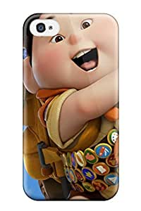 Excellent Iphone 4/4s Case Tpu Cover Back Skin Protector Pixars Up Movie S
