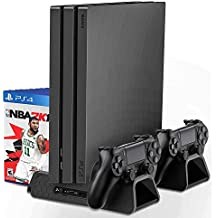 Base Vertical - Preto - PlayStation 4