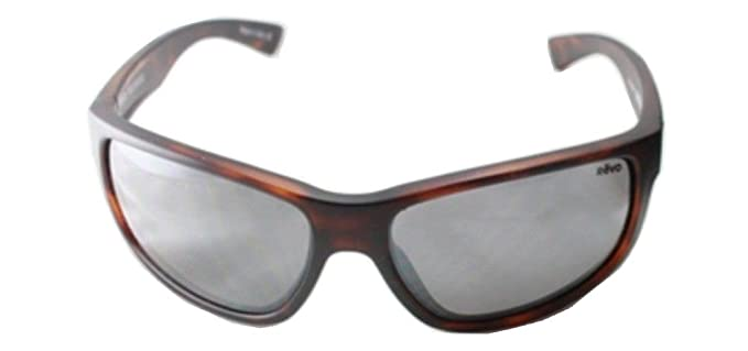 78c04251a1 Revo Baseliner RE 1006 02 GY Polarized Wrap Sunglasses Brown Crystal  Graphite 61 mm