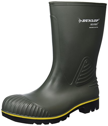 black Wellington KUIT Green Langschaft Unisex B440631 Adults Black AF ACIFORT Boots Dunlop vq1SZwUav