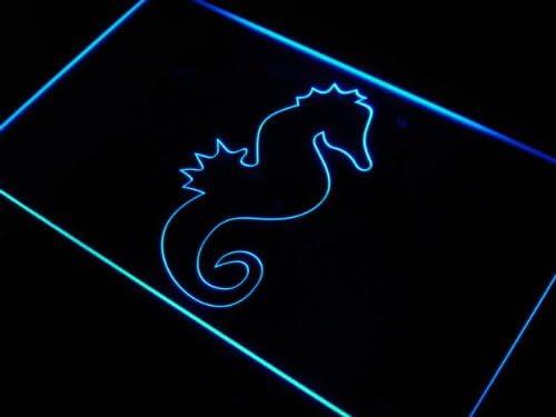 ADV PRO j421-b Seahorse Ocean Animals Sign Gift Direct sale of manufacturer Manufacturer OFFicial shop Light Home Neon
