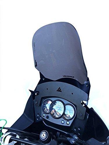Rally Dash - Krono Parts Height lifter windshield Windscreen Rally Dash Dakar For Kawasaki Klr 650 Motorcycle