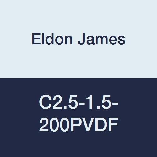 Eldon James C2.5-1.5-200PVDF Industrial Gray Kynar Reduction Coupler 5//32 Hose Barb to 3//32Hose Barb Pack of 10