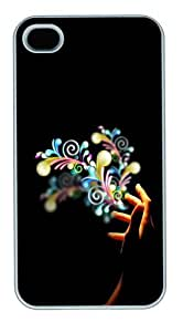 Abduzeedo Polycarbonate Custom Case Cover Protector for iphone 6 plus and iphone 6 plus White