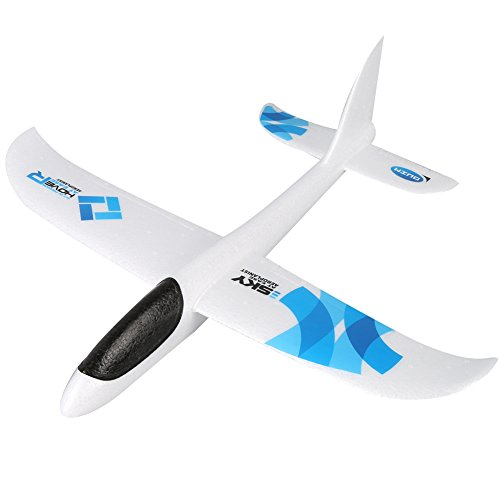 Epp Durability Airplane (Wenasi EPP Super Durable Throwing Glider Inertia Plane Foam Aircraft Toy Hand Launch Airplane Model Outdoor Sports Toy for Kids)