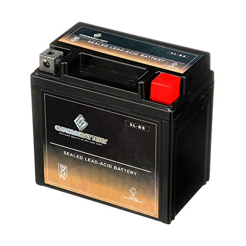 Chrome Battery YTX5L-BS Rechargeable