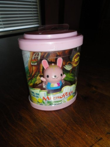 Tomy MicroPets Limited Edition Bunny