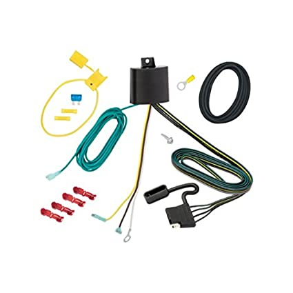 Amazon.com: Tekonsha 118284 4-Flat Tow Harness Wiring Package ... on tow board, tow pin, tow tools, tow food, tow accessories, tow bracket, tow rope, tow strap, tow equipment, tow lights, tow bolt, tow vehicle, tow ball, tow carrier, tow box,