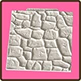Design Mat Fondant Cake Icing Craft Embellishment Mould - Stone Effect by Katy Sue Designs