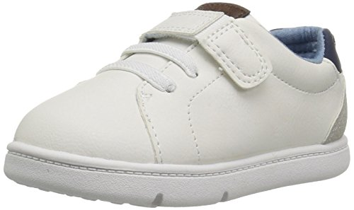 Carter's Every Step Baby Park Girl's and Boy's Casual Sneaker, White, 4 M US Toddler by Carter's