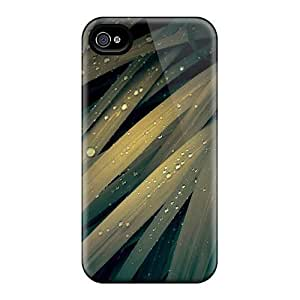 JEc56FHZl Snap On Case Cover Skin For Iphone 4/4s(lomo Watered Grass) hjbrhga1544
