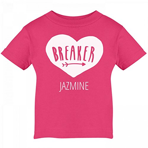 Heartbreaker Jazmine Valentine's Outfit: Infant Cotton T-Shirt (Jazmine Outfit)