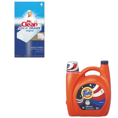 KITPAG23064PAG82027 - Value Kit - Procter amp; Gamble Professional Ultra Liquid Laundry Detergent (PAG23064) and Mr. Clean Magic Eraser Foam Pad (PAG82027)
