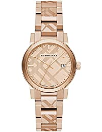 87c82d293a4 The City Rose Gold-Tone Ladies Watch BU9146 · BURBERRY