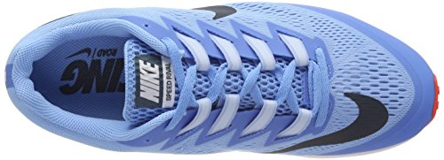 Nike Unisex Adults' Air Zoom Speed Rival 6 Running Shoes Blue (Football Blue/Bright Crimson/White/Blue Fox) iRoXPG