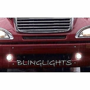 Freightliner Columbia Blue Halo Fog Lamps Angel Eye Driving Lights Foglamps