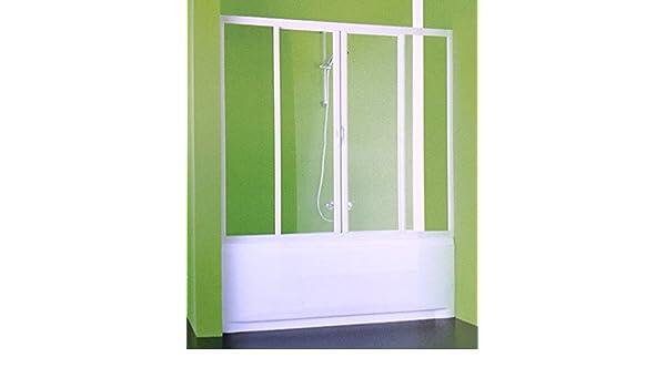 Mampara acrílica para duchas y bañeras angulares, tamaño ajustable ...