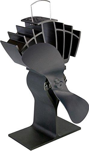 Caframo Ecofan Ultrair 810 Black Heat Powered Stove Fan by Caframo