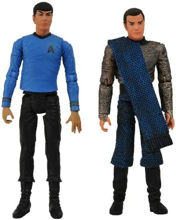 Star Trek: The Original Series: Romulan Kirk & Spock Action Figure Two-Pack by Diamond Select: Amazon.es: Juguetes y juegos