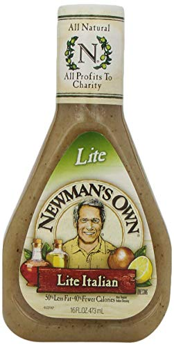 Newman's Own Light Italian Salad Dressing, 16-oz.