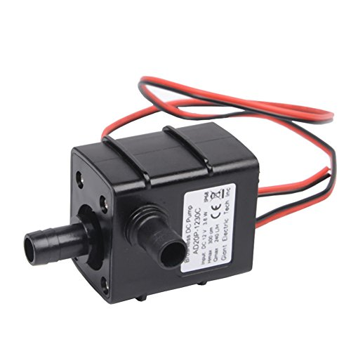 AUTIDEFY Ultra-quiet Submersible Water Pump ,DC12V 3.6W M...