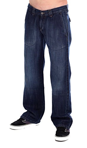 Mustang - Jeans - Homme Bleu 568 Heavy Used Wash