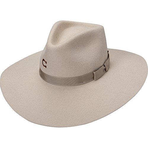 Charlie 1 Horse Women's Highway Springtime Felt Hat Silverbelly Large