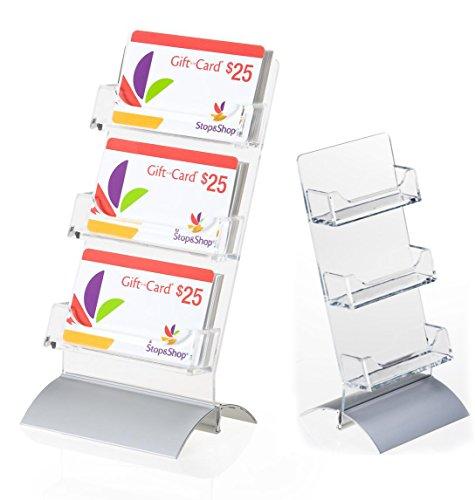 tabletop card display - 4
