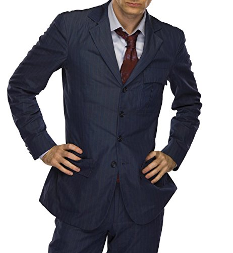 [Class Jackets Tenth Doctor Dress Blue Suit 38 Regular US / W 32''] (Tenth Doctor Dress)