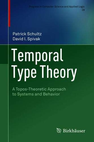 Temporal Type Theory: A Topos-Theoretic Approach to Systems and Behavior