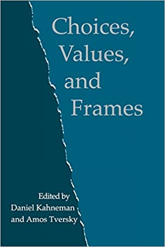 Amazon.com: Choices, Values, and Frames (9780521627498): Daniel ...