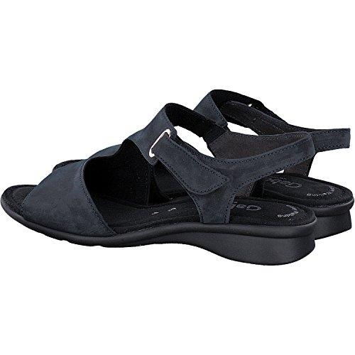 Sandalette De Base De Confort Gabor Dans Plus De Tailles Marron 86.063.33 Grandes Chaussures Dames Bleu Nuit