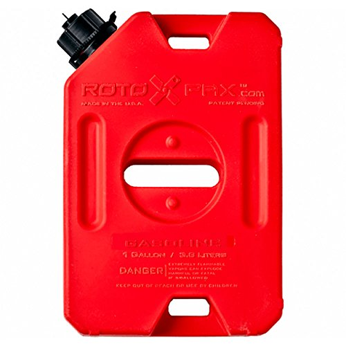 Gasoline Pack - RotopaX RX-1G Gasoline Pack - 1 Gallon Capacity