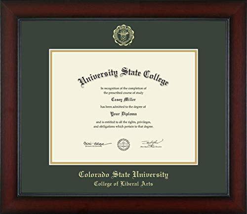 Colorado State University College of Liberal Arts - Officially Licensed - Gold Embossed Diploma Frame - Diploma Size 11