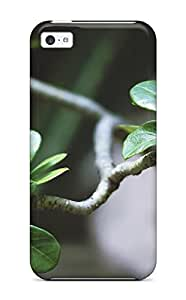 Ultra Slim Fit Hard ZippyDoritEduard Case Cover Specially Made For Iphone 5c- Bonsai Leaves Trees Nature Other