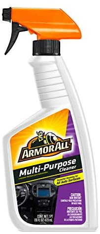 Armor All Car Cleaner Spray Bottle, Cleaner for Cars, Truck, Motorcycle, Multi-Purpose, 16 Oz, Pack of 6, 78513-6PK