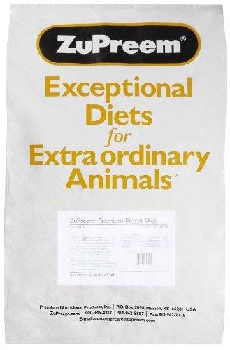 ZUPREEM 230059 Prem Ferret Diet Food, 30-Pound by ZuPreem
