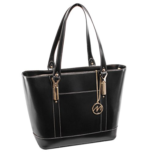 McKlein USA Arya Leather Ladies' Tote with Tablet Pocket,...
