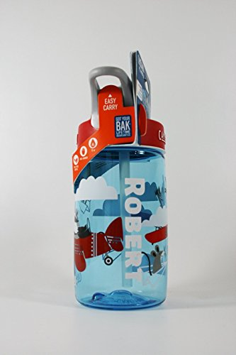 Personalized .4L Kid's Airplane Bandits Camelbak (Kids Personalized Name Water Bottle)